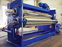 Kuster Nipco I Type Two Roll Calender for Fabric